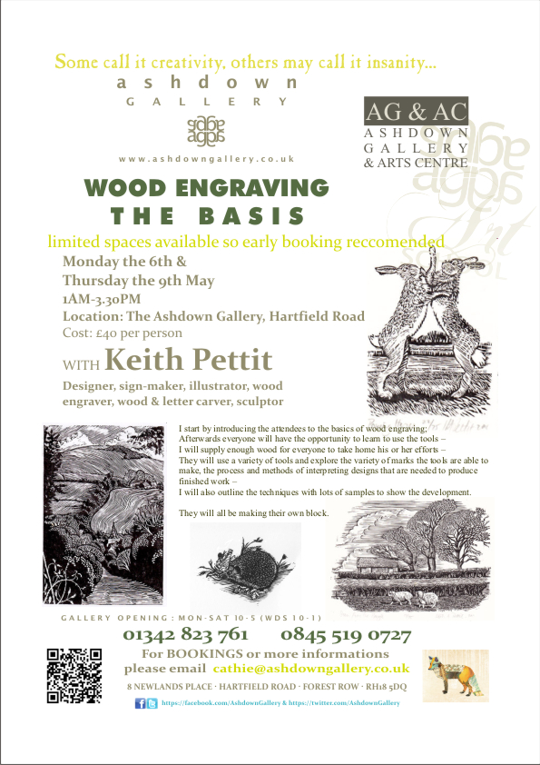 Wood engraving workshop