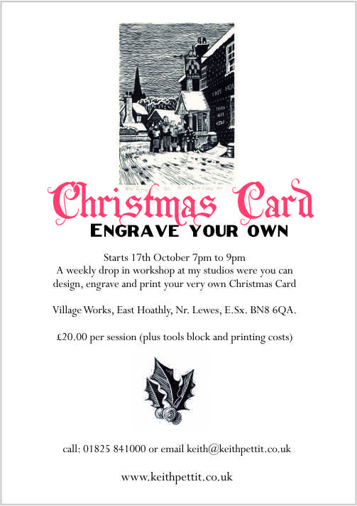 christmas card Flyer